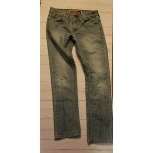 Levi's original skinny 511 light wash jeans